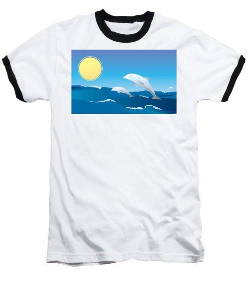 Splash Baseball T-Shirt by Now