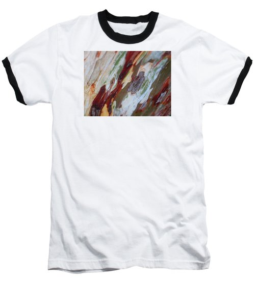 Splash Of Amber Baseball T-Shirt by Vivien Rhyan