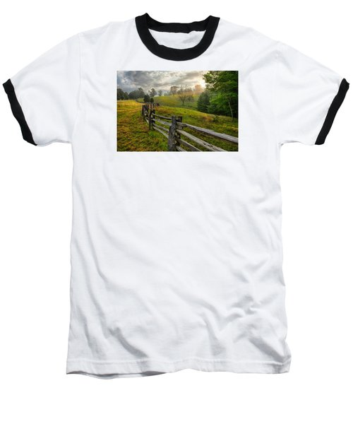 Splash Of Morning Light Baseball T-Shirt by Dan Carmichael