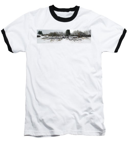 Split Personality - Panorama Baseball T-Shirt