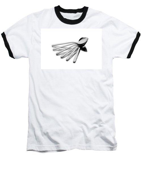 Baseball T-Shirt featuring the photograph Spoon Fan by Gert Lavsen