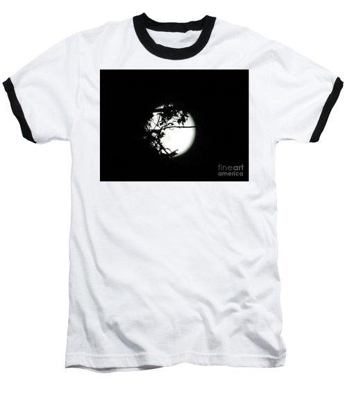 Spotlight Moon Baseball T-Shirt