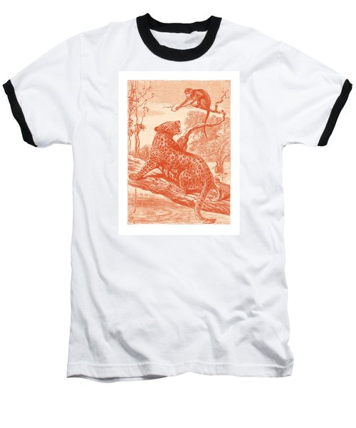 Baseball T-Shirt featuring the drawing Spotted by David Davies
