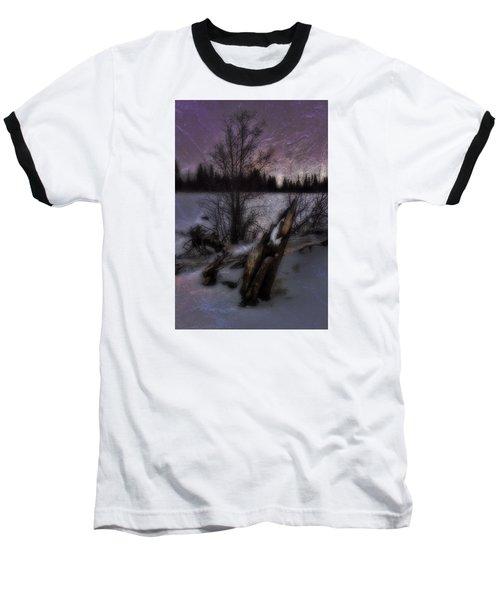 Baseball T-Shirt featuring the photograph Sprague Lake Winter Dream by Ellen Heaverlo