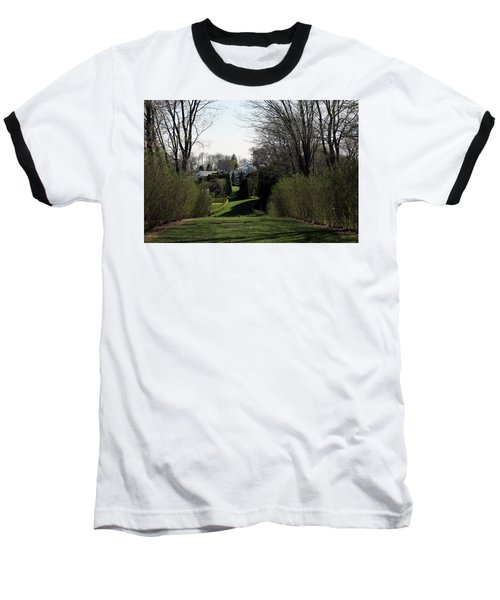 Spring At Ladew Topiary Gardens Baseball T-Shirt
