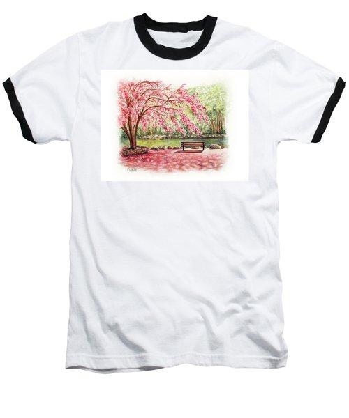 Spring At Lithia Park Baseball T-Shirt