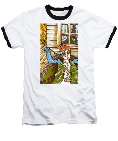 Autumnal Awakening Baseball T-Shirt