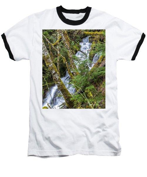Spring Cascade Baseball T-Shirt