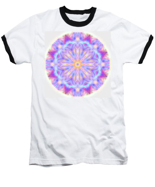 Spring Energy Mandala 3 Baseball T-Shirt