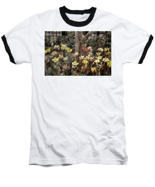 Baseball T-Shirt featuring the photograph Spring Flowers by Joann Vitali