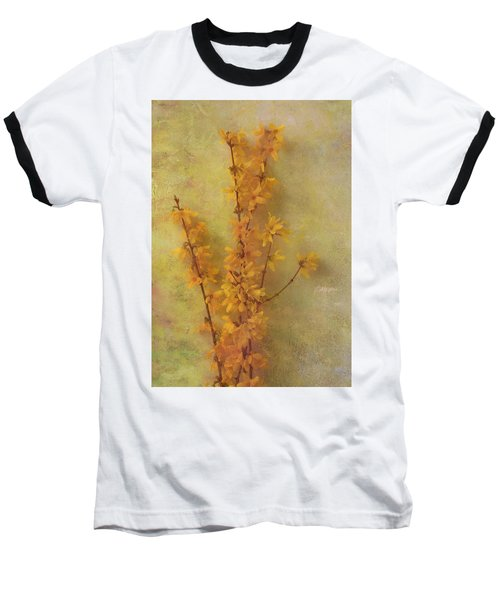 Spring Forsythia Baseball T-Shirt