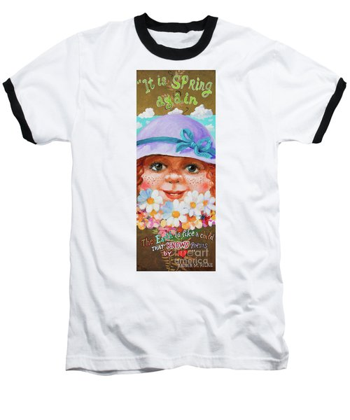 Spring Baseball T-Shirt by Igor Postash
