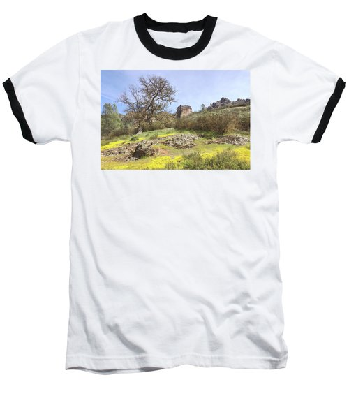 Baseball T-Shirt featuring the photograph Spring In Pinnacles National Park by Art Block Collections