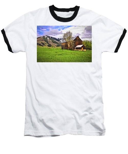 Baseball T-Shirt featuring the digital art Spring Is All Ways A Good Time Of The Year by James Steele