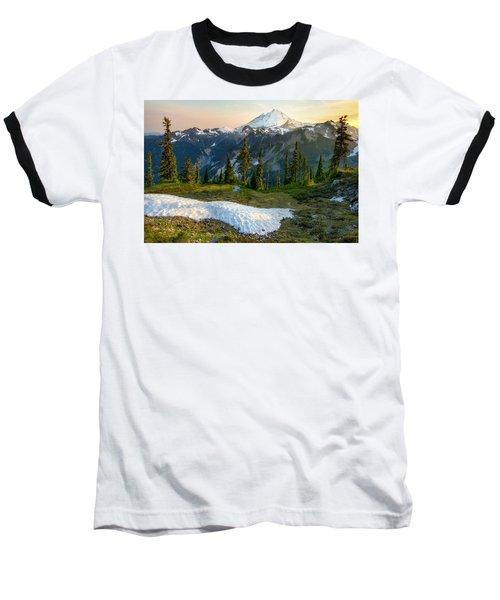 Spring Melt Baseball T-Shirt by Ryan Manuel