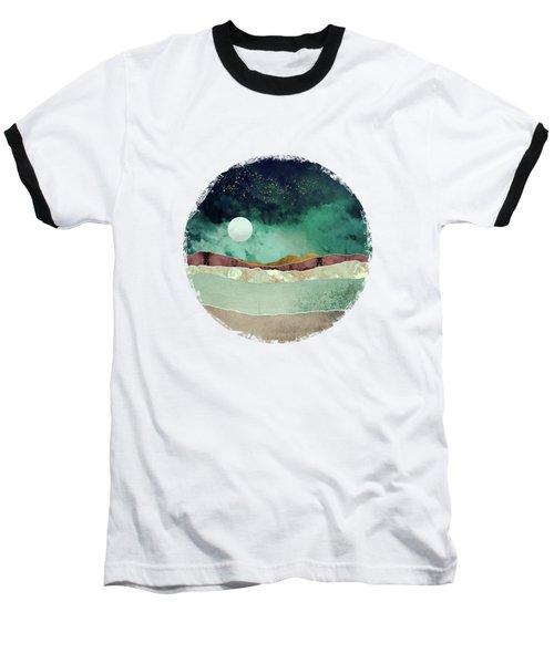 Spring Night Baseball T-Shirt by Katherine Smit