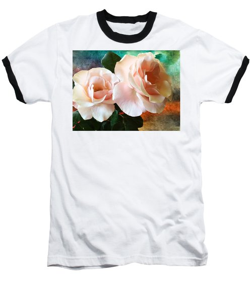 Baseball T-Shirt featuring the photograph Spring Roses by Gabriella Weninger - David