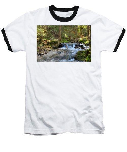 Spring Run Off Baseball T-Shirt by Sean Allen