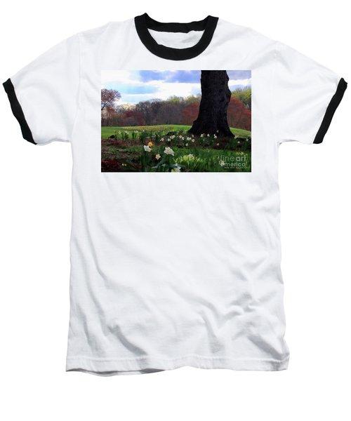 Springing Forward At Edgemont Golf Course Baseball T-Shirt