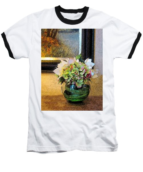 Springtime Delight 1 Baseball T-Shirt by Cedric Hampton