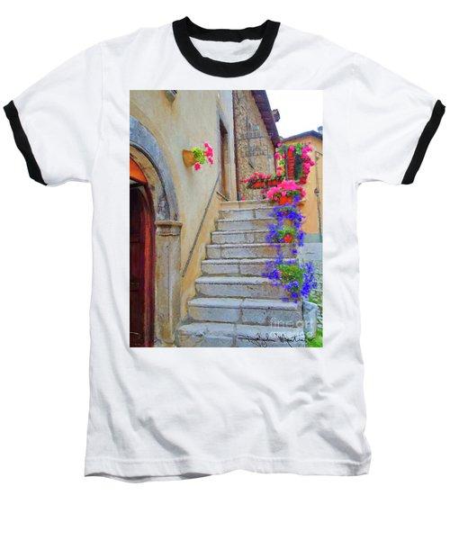 Springtime In Italy  Baseball T-Shirt
