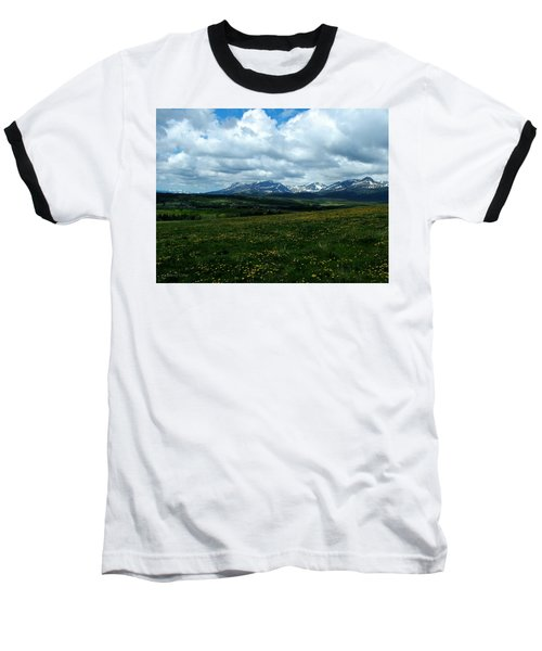Springtime In The Rockies Baseball T-Shirt