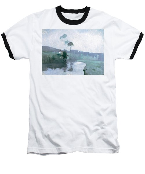 Baseball T-Shirt featuring the painting Springtime by John Henry Twachtman