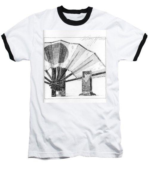 Spirit Of Japan. Fan And Matchbox Baseball T-Shirt