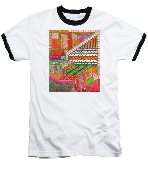 Square Dance 2 Baseball T-Shirt