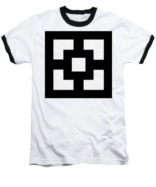 Baseball T-Shirt featuring the digital art Squares - Chuck Staley by Chuck Staley