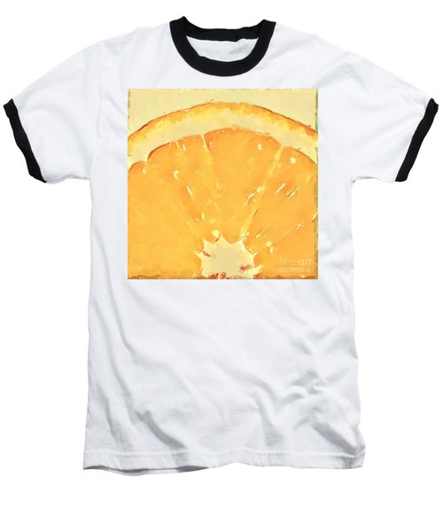Baseball T-Shirt featuring the mixed media Squeeze Me 2 by Anthony Fishburne