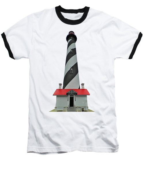 St Augustine Lighthouse Transparent For T Shirts Baseball T-Shirt
