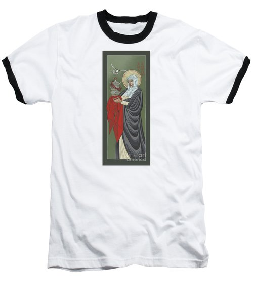 St Catherine Of Siena- Guardian Of The Papacy 288 Baseball T-Shirt