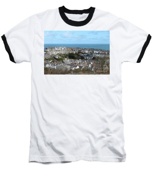 Baseball T-Shirt featuring the photograph St Ives, Cornwall, Uk by Nicholas Burningham
