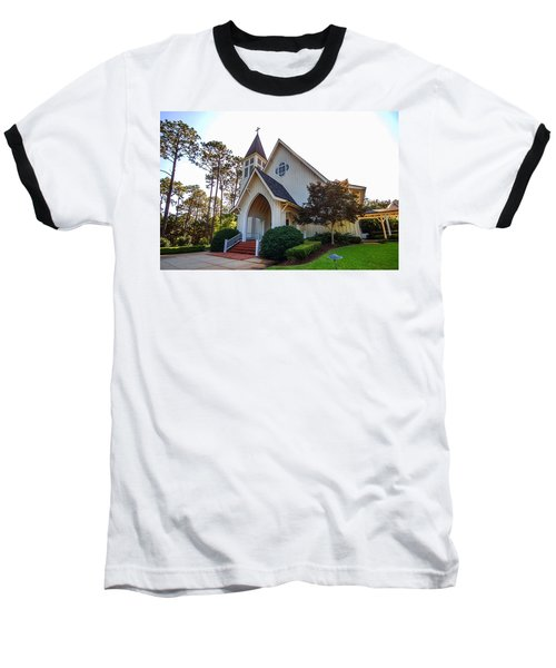 St. James V2 Fairhope Al Baseball T-Shirt by Michael Thomas
