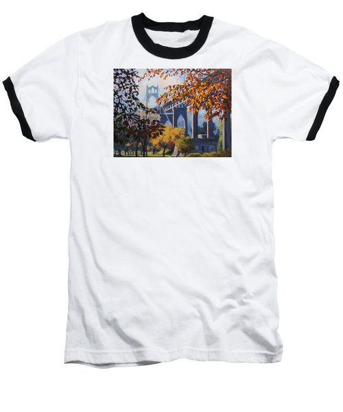 St Johns Autumn Baseball T-Shirt
