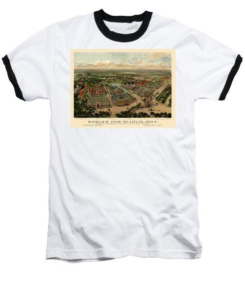 St. Louis Worlds Fair 1904 Baseball T-Shirt