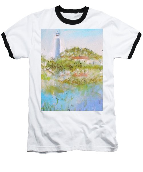 St Marks Lighthouse Baseball T-Shirt