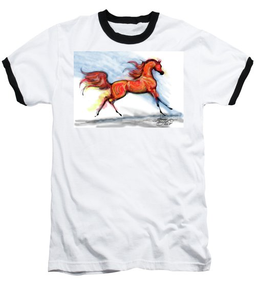 Staceys Arabian Horse Baseball T-Shirt