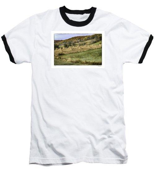 Stacked Baseball T-Shirt by R Thomas Berner
