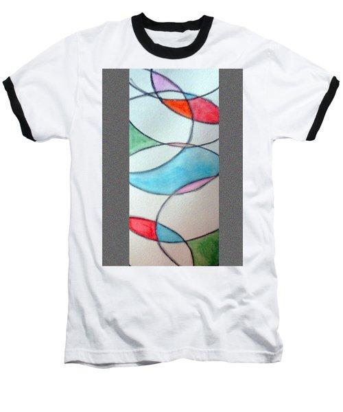 Stain Glass Baseball T-Shirt