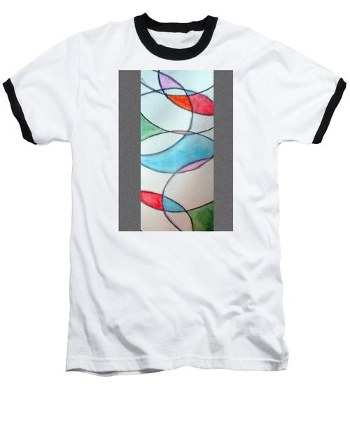 Stain Glass Baseball T-Shirt