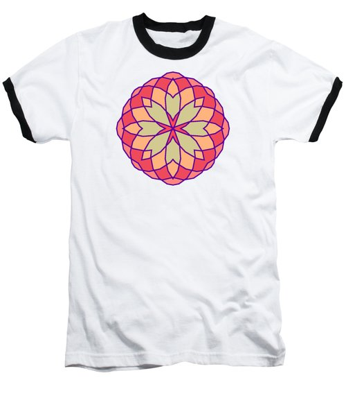 Baseball T-Shirt featuring the digital art Stained Glass by Methune Hively