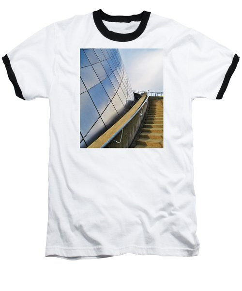 Staircase To Sky Baseball T-Shirt by Martin Cline