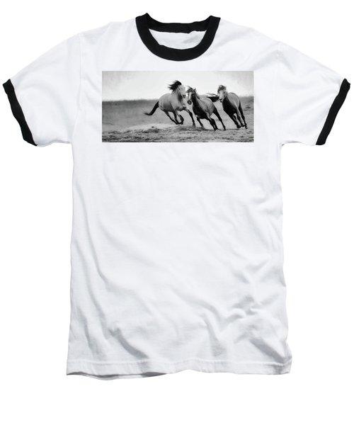 Stallion  Baseball T-Shirt by Kelly Marquardt