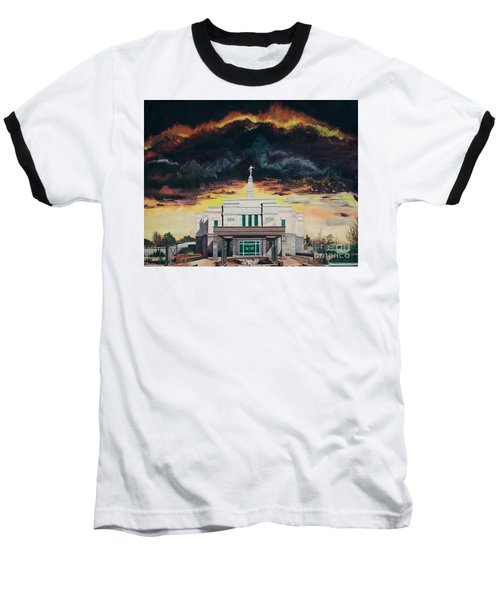 Stand In Holy Places Baseball T-Shirt by Jane Autry