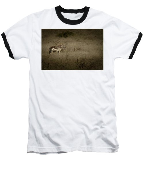 Standing In The Light Baseball T-Shirt by Roger Mullenhour