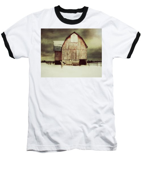 Standing Tall Baseball T-Shirt by Julie Hamilton