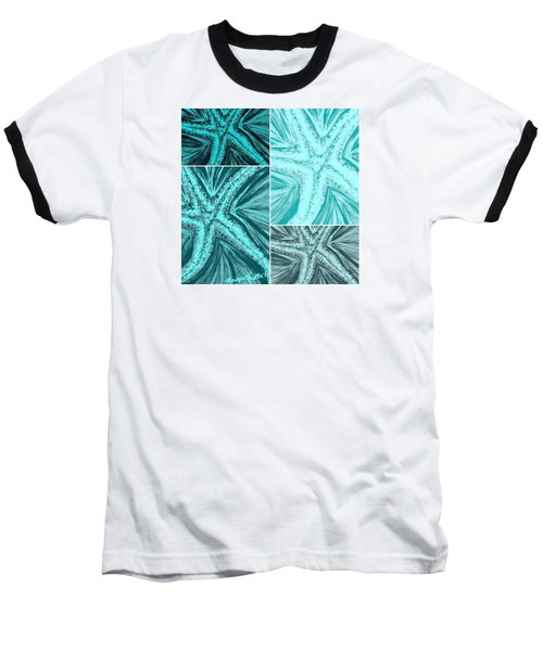 Starfish Pop Art Baseball T-Shirt