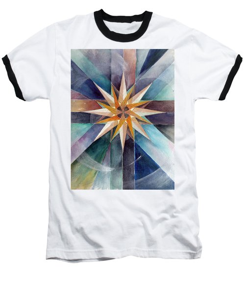 Star Mandala 2  Baseball T-Shirt